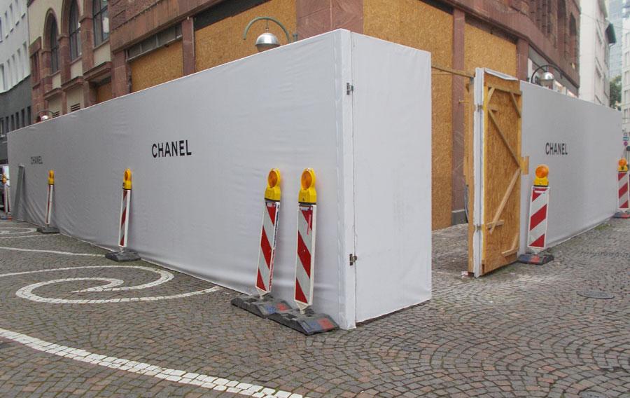 Bauzaunwerbung In Frankfurt Schicke Werbung Ist Ihr Kompetenter