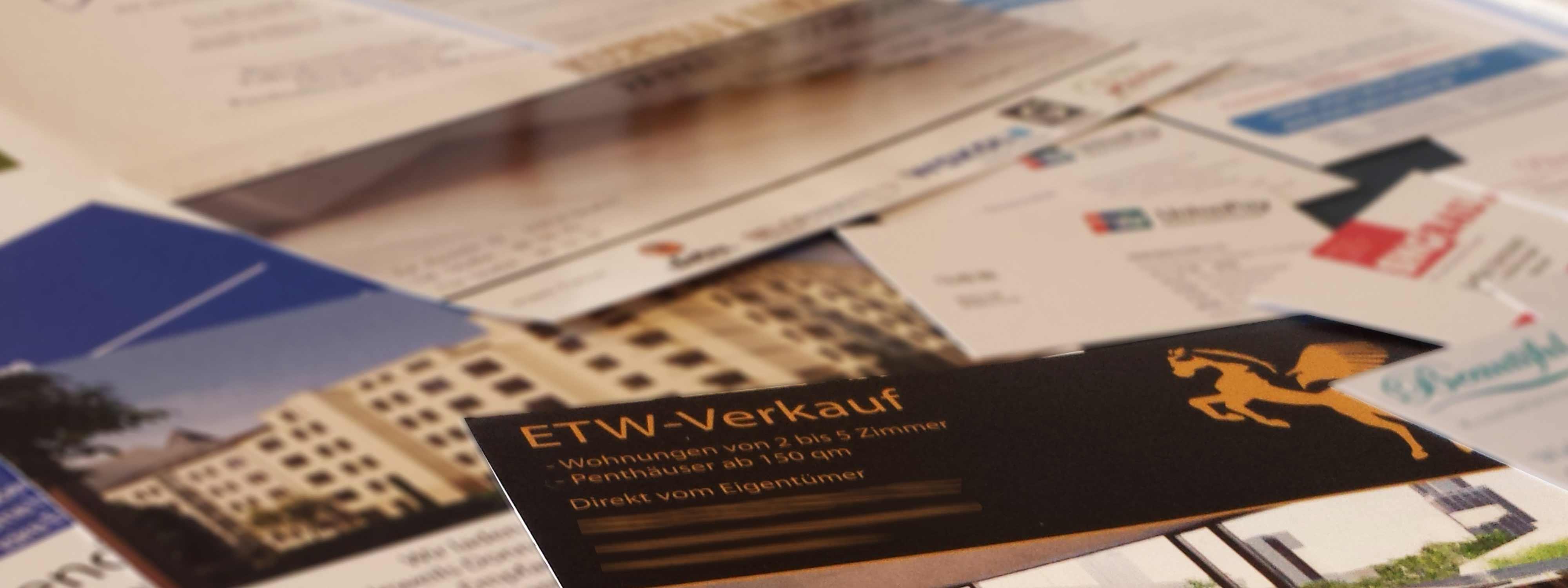 Druckerzeugnisse In Frankfurt Schicke Werbung Ist Ihr